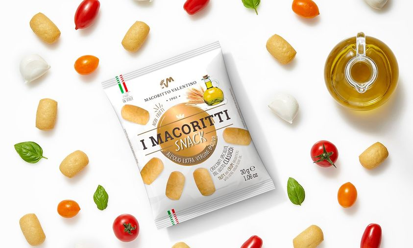 E' quasi l'ora della #merenda...se vuoi fare una #pausa gustosa e leggera, prova I Macoritti Snack all'olio extra vergine di oliva, nel nuovo pratico...