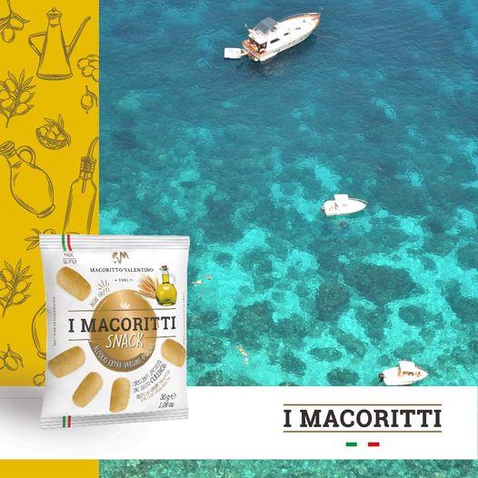 Da oggi I Macoritti Classici sono disponibili anche nella busta in formato SNACK da 30g, ideale come #merenda e golosa #pausa in #spiaggia o ovunque t...